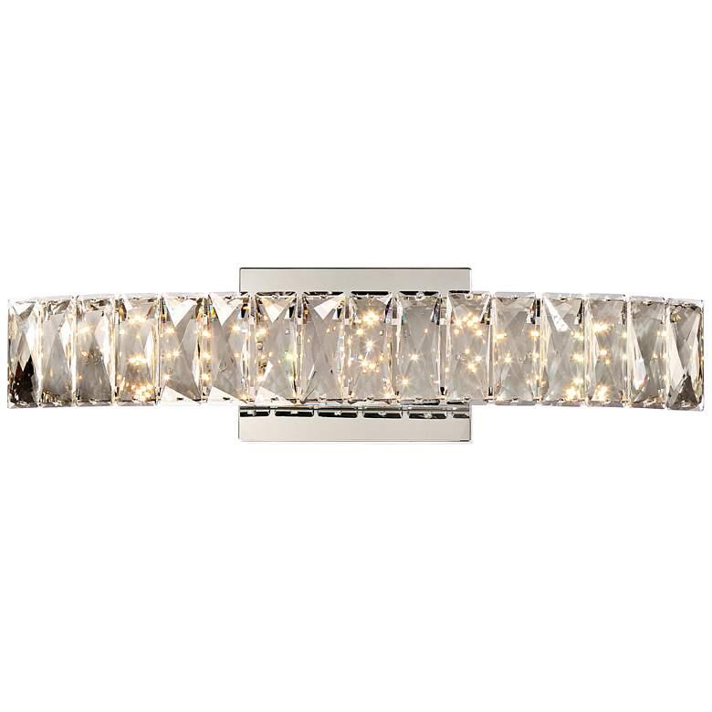 "Platinum Collection Gala 18 1/2"" Wide Chrome LED Bath Light"