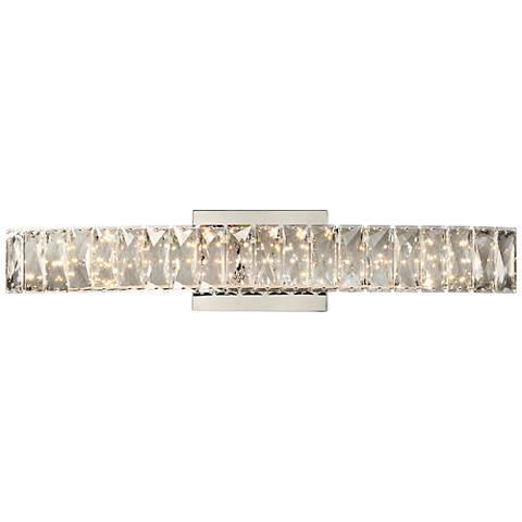 "Platinum Collection Gala 24""W Polished Chrome LED Bath Light"