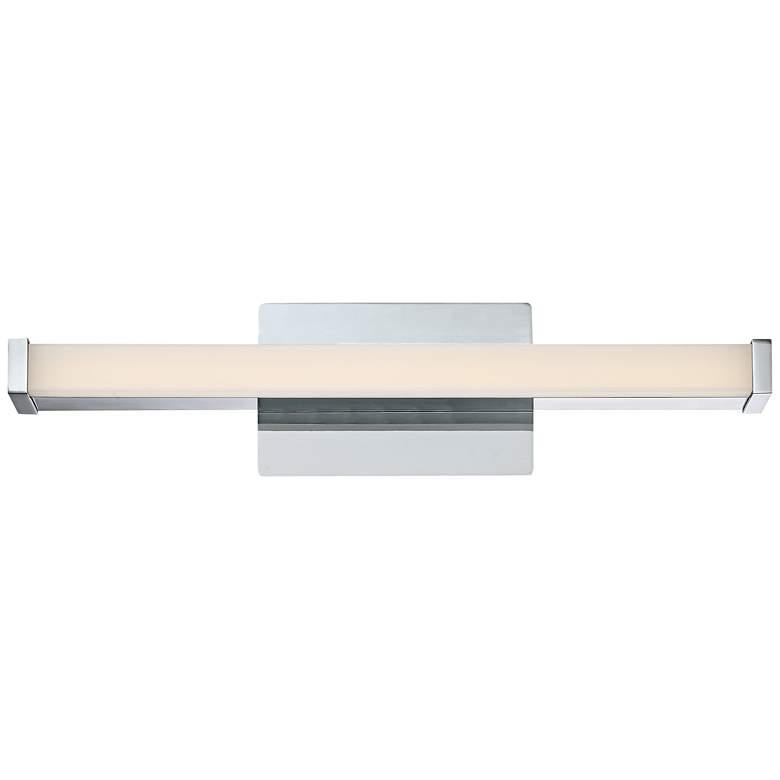 "Platinum Collection Promenade 18 3/4""W Chrome LED Bath Light"