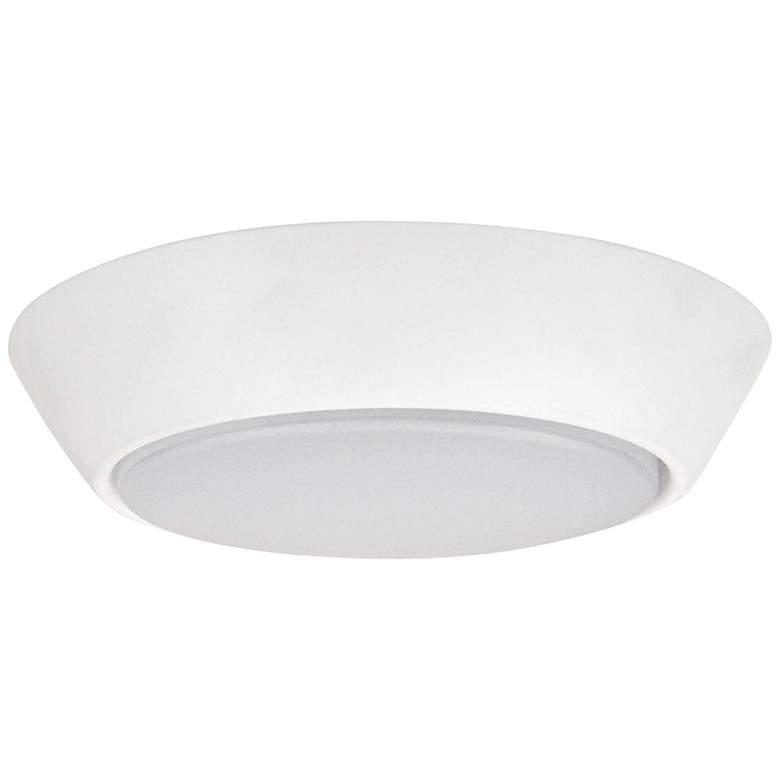 """Dolan 7"""" Wide White 10-Watt LED Compact Ceiling Light"""