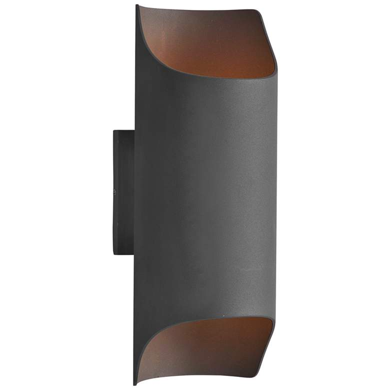 """Maxim Lightray LED 13 3/4"""" High Bronze LED Outdoor Wall Sconce"""
