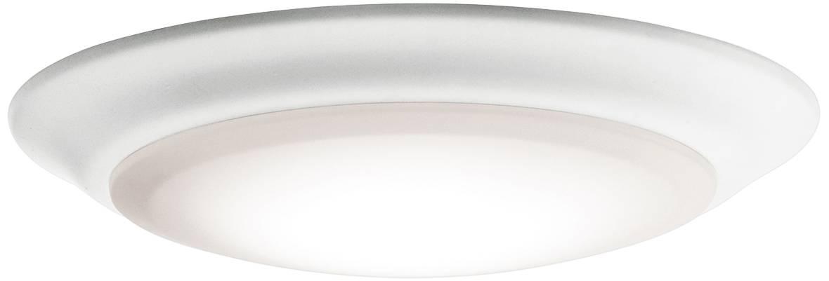 6 white 3000k 1000 lumen led surface mount or retrofit trim