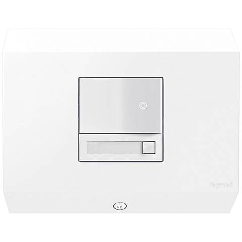 adorne® White Control Box with Paddle Dimmer