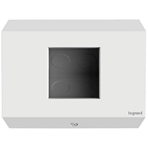 adorne® 1-Gang White No Devices Control Box