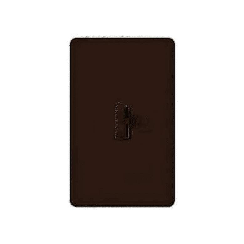 Lutron Ariadni CL Brown 1-Pole/3-Way Toggle Dimmer Switch