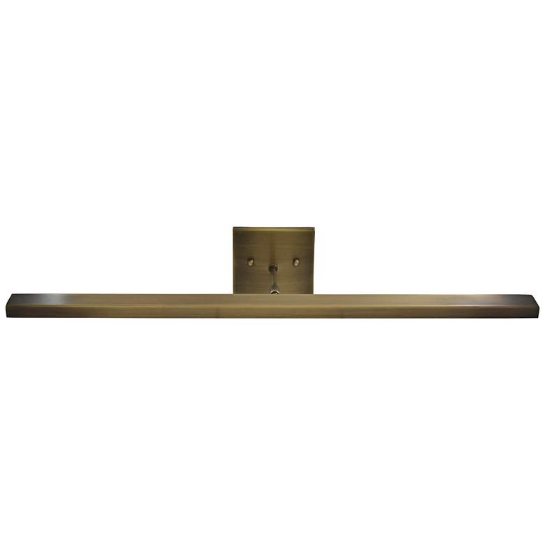 "Horizon 26"" Wide Antique Brass Direct Wire LED"
