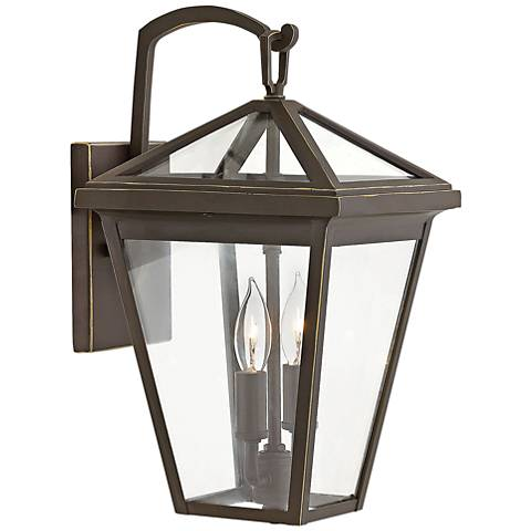 """Alford Place 14"""" High Oil Rubbed Bronze Outdoor Wall Light"""