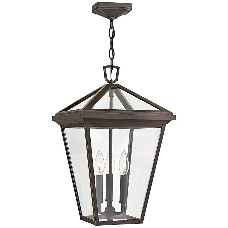 "Alford Place 19 1/2""H Rubbed Bronze Outdoor Hanging Light"