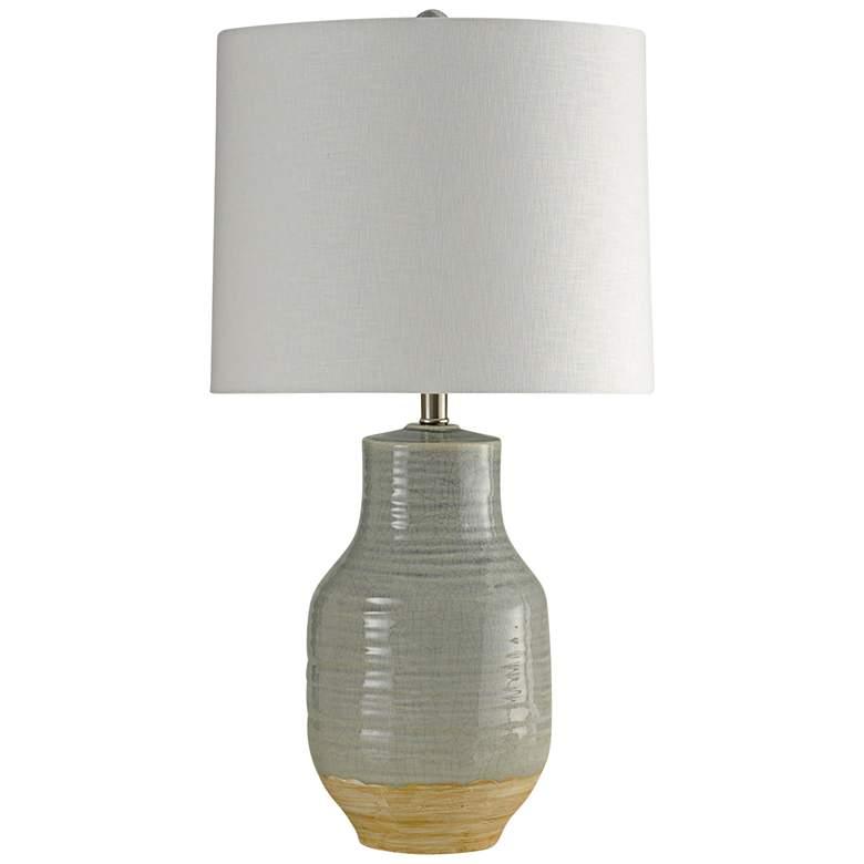 Henne Gray Ceramic Table Lamp