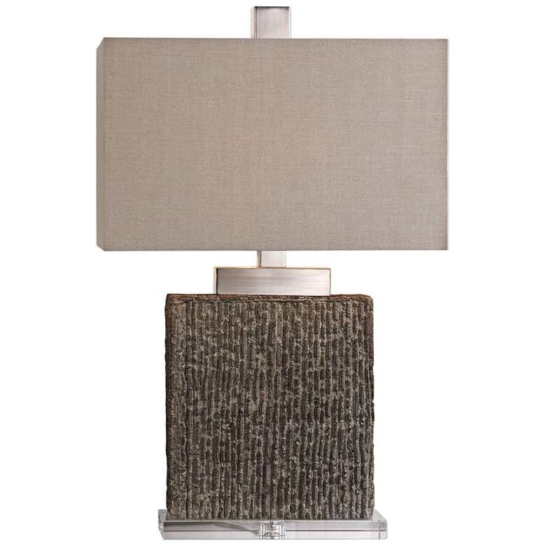 Uttermost Demetrio Taupe Wash Table Lamp