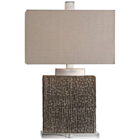 Uttermost Demetrio Taupe Wash Table Lamp
