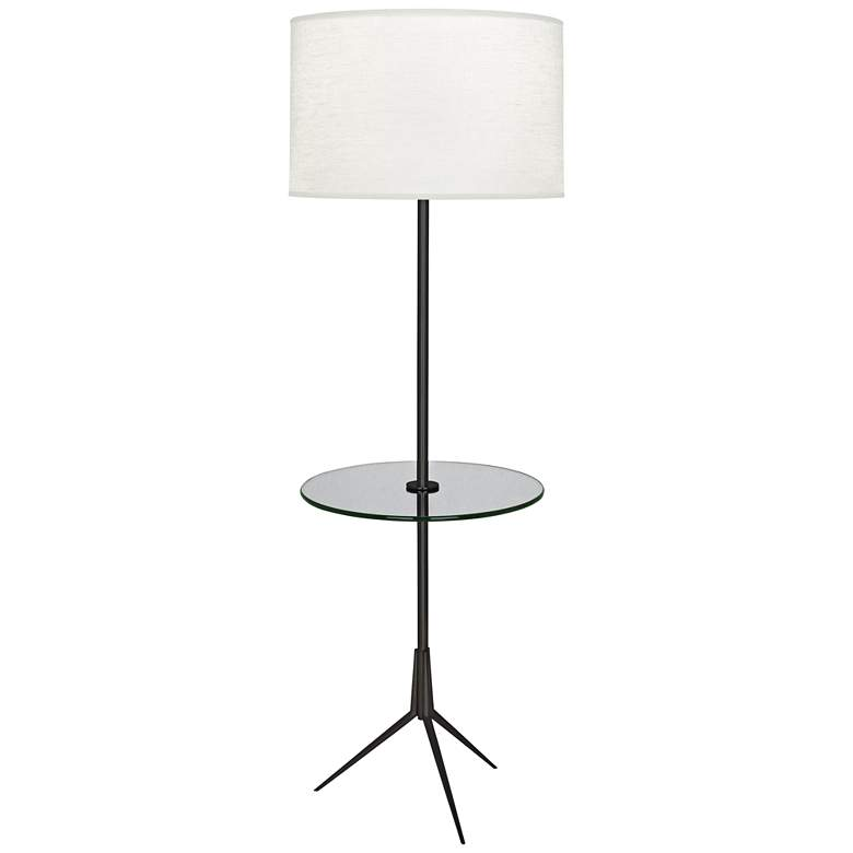 Robert Abbey Martin Patina Bronze Floor Lamp with