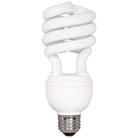 Satco 3-Way Standard Medium CFL Light Bulb