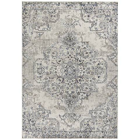 Kas Seville 9471 Ivory and Gray Area Rug