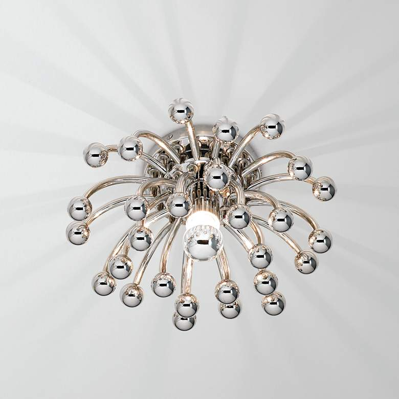 """Robert Abbey Anemone 13"""" Wide Ceiling or Wall Light"""