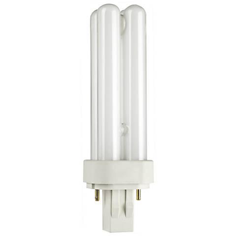 Two- Pin Quad 13-Watt Compact Fluorescent Light Bulb