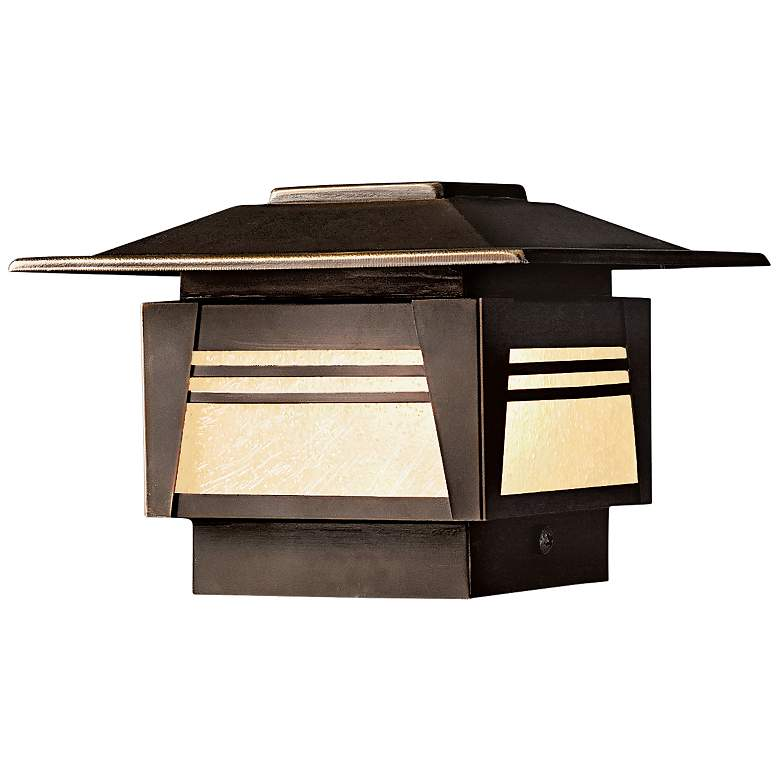"Kichler Zen Garden 5"" High Olde Bronze Deck"