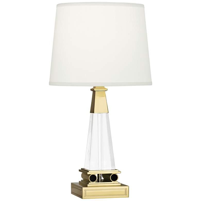 Robert Abbey Darius Tapered Brass Modern Accent Lamp