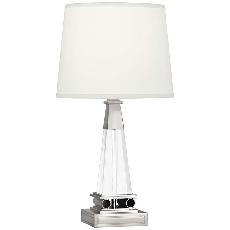Robert Abbey Darius Tapered Polished Nickel Modern Accent Lamp