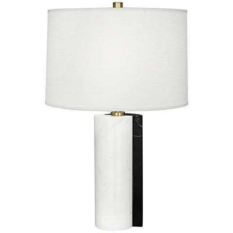 Jonathan Adler Canaan Oyster Dual-Marble Table Lamp