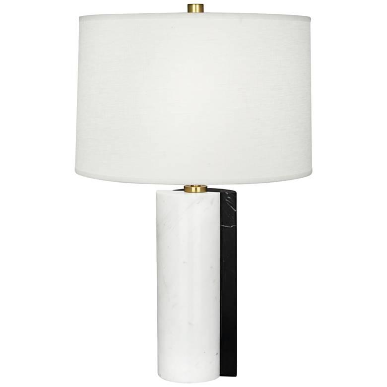 Jonathan Adler Canaan Oyster Dual-Marble Table Lamp