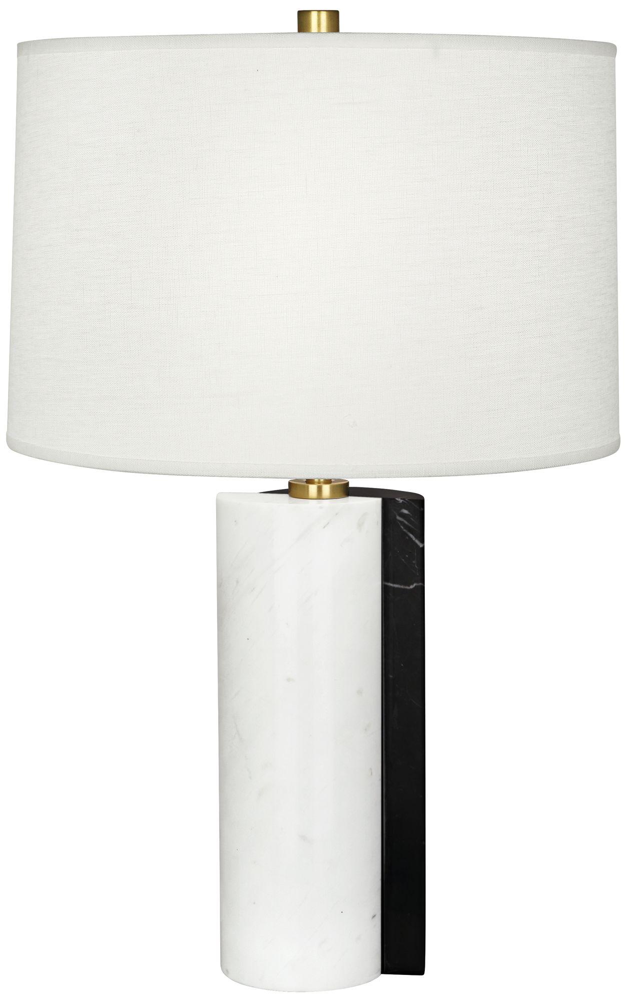 Jonathan Adler Canaan Oyster Dual Marble Table Lamp