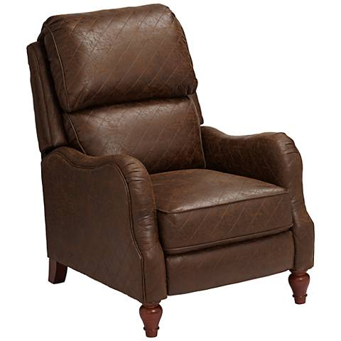 Palance Tobacco Brown 3-Way Recliner Chair