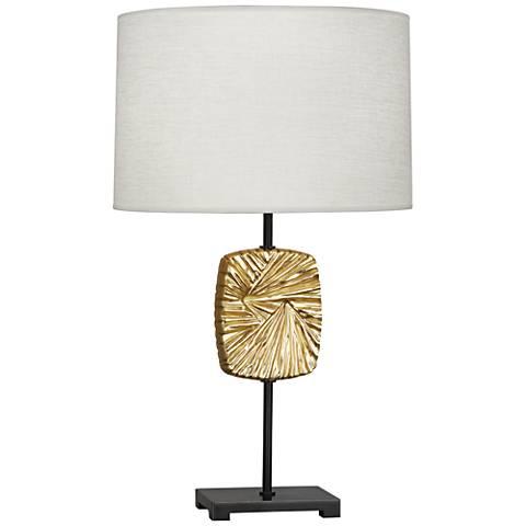 Michael Berman Alberto Modern Brass and Bronze Table Lamp