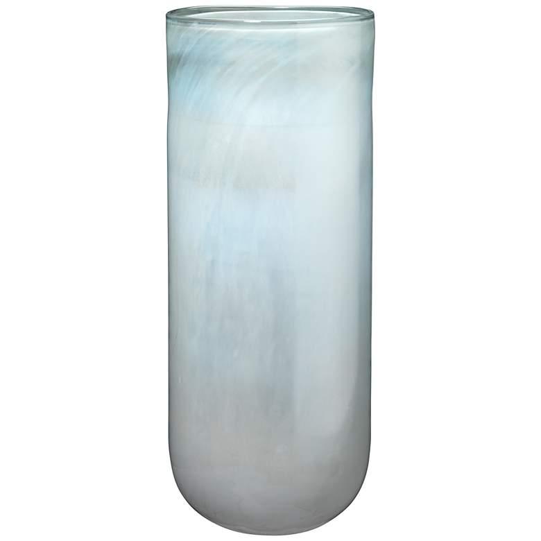 "Jamie Young 20"" High Vapor Metallic Opal Glass Vase"