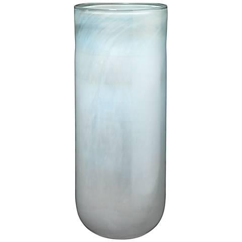 "Jamie Young Vapor Metallic Opal 20"" High Glass Vase"