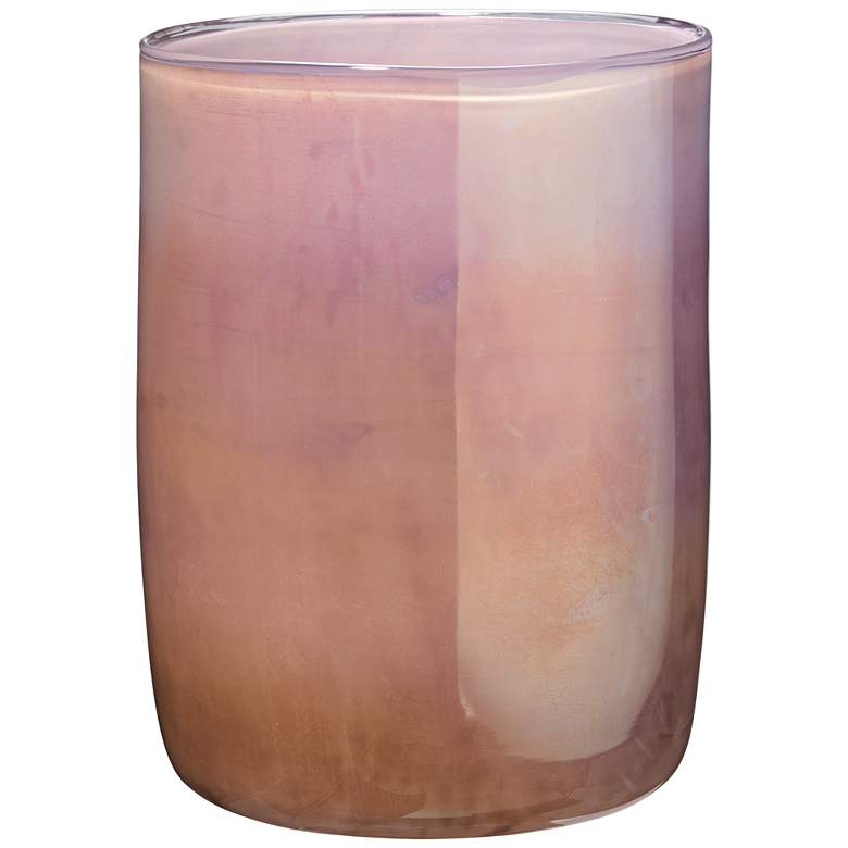 "Jamie Young 11"" High Vapor Metallic Lavender Glass Vase"
