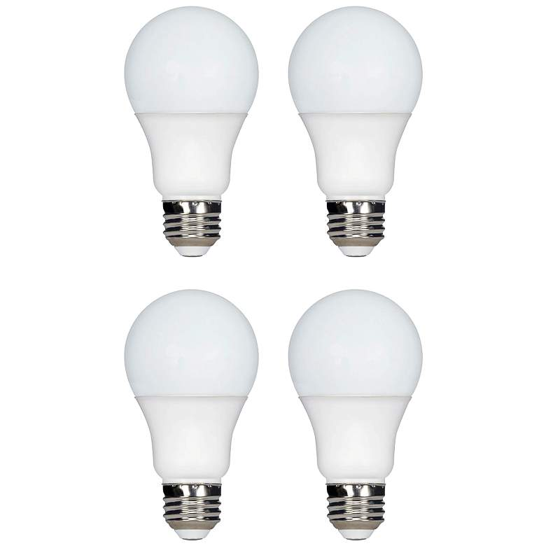 100 Watt Equivalent Tesler Frosted 11W LED Dimmable 4-Pack