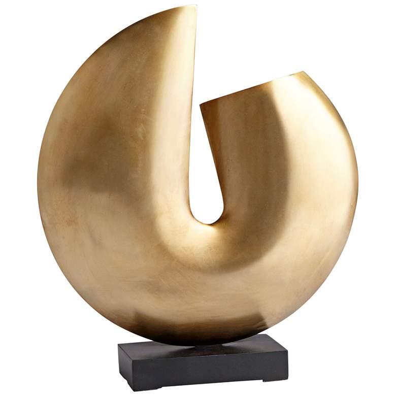 """Cyan Design Jasmine 15 1/2""""H Bronze Fortune Cookie"""