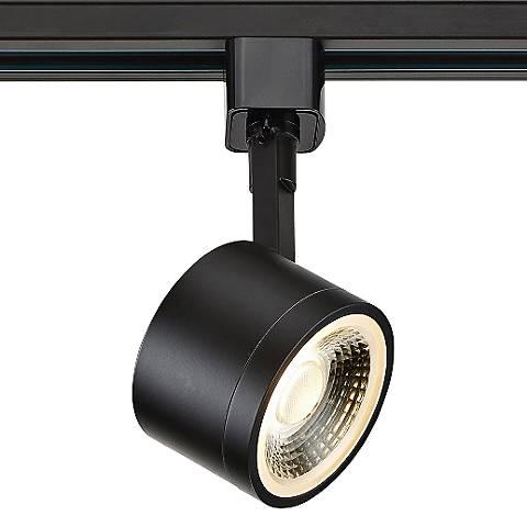 12 Watt Black Round LED Track Head for Halo Systems