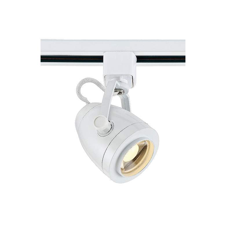 White 12W 36 Degree Pinch LED Track Head for Halo Systems