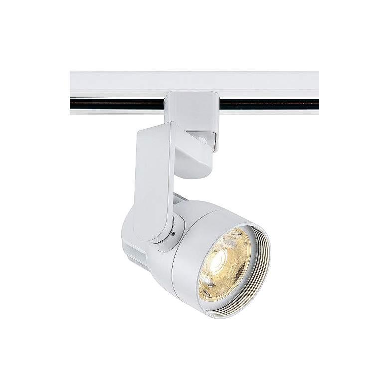 12 Watt White Angle Arm LED Track Head