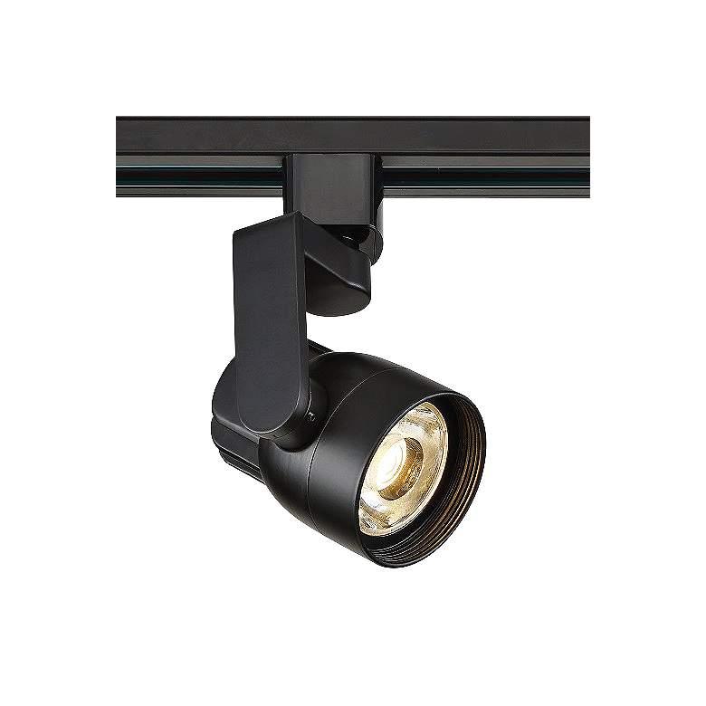 12 Watt Black Angle Arm LED Track Head