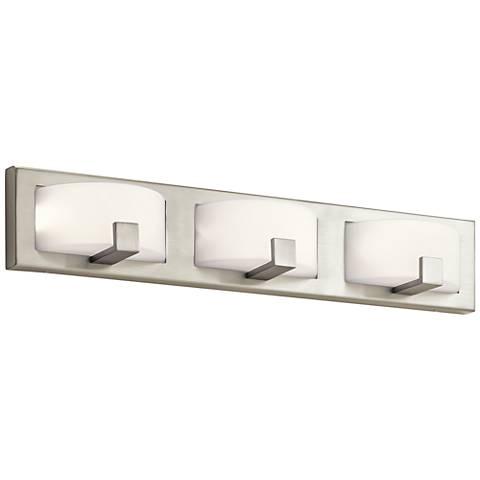 "Elan Bethwin™ 26"" Wide Brushed Nickel 3-LED Bath Light"