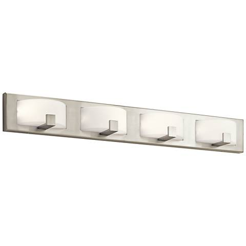 "Elan Bethwin™ 36"" Wide Brushed Nickel 4-LED Bath Light"