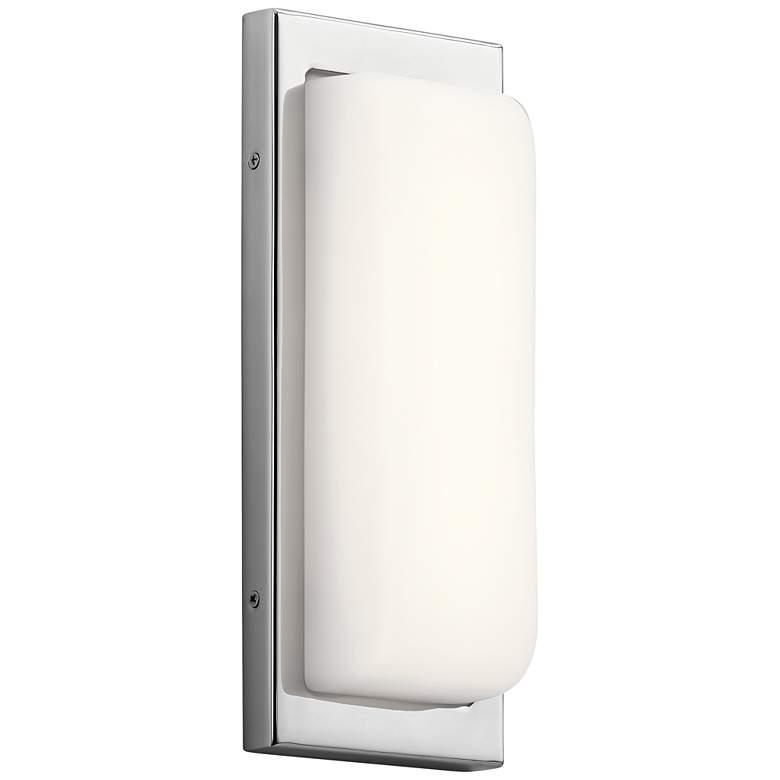 "Elan Kelsi 12"" High Chrome LED Wall Sconce"