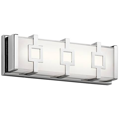 "Elan Velitri™ 15"" Wide Chrome LED Bath Light"