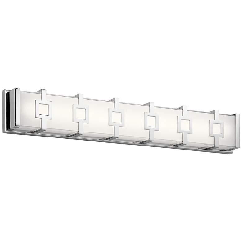 """Elan Velitri™ 30"""" Wide Chrome LED Bath Light"""
