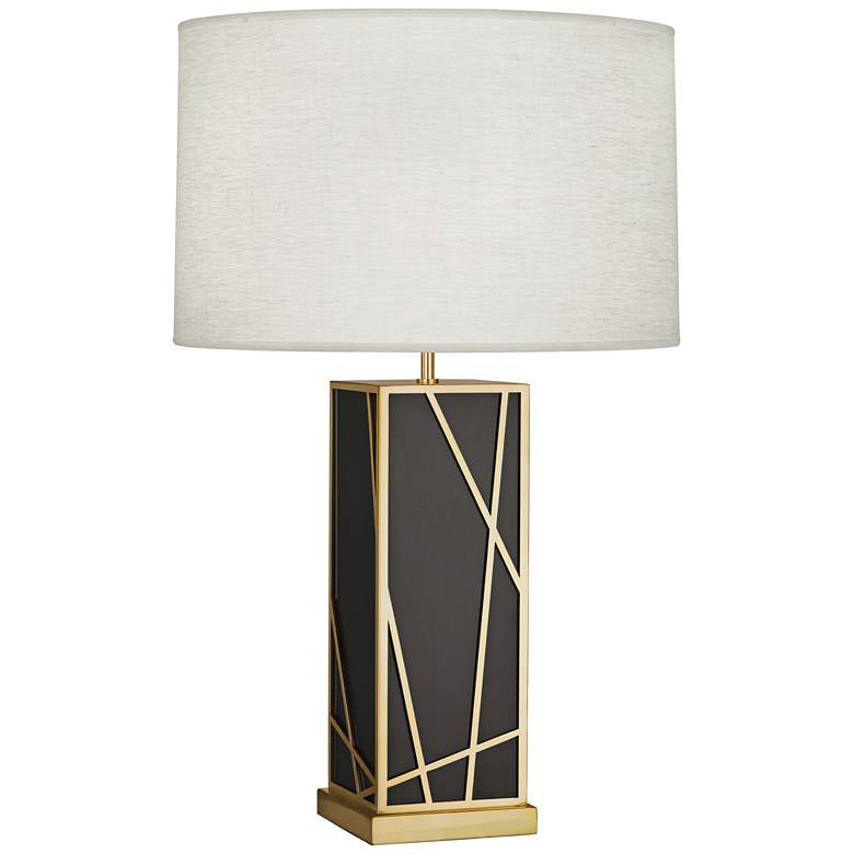Michael Berman Kerr Bronze Tall Table Lamp w/