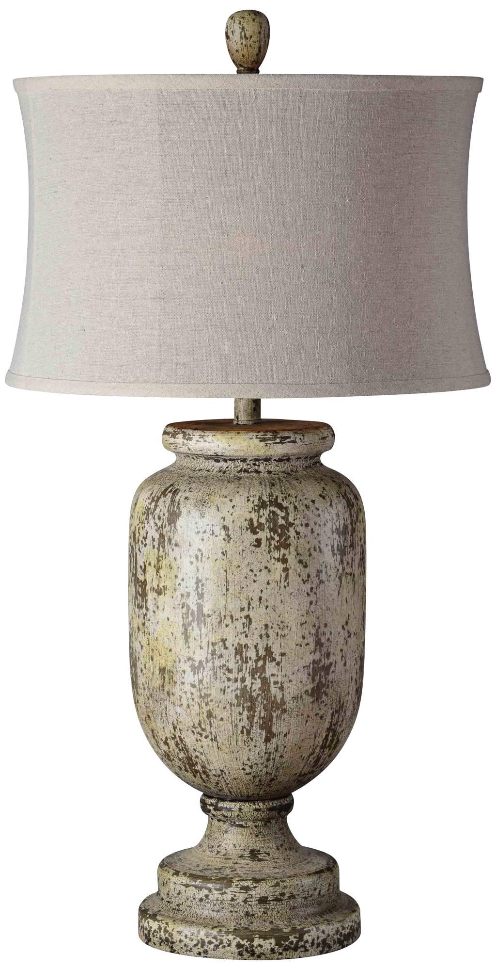 Cardiff Iron Night Light Urn Table Lamp T7663 Lamps Plus