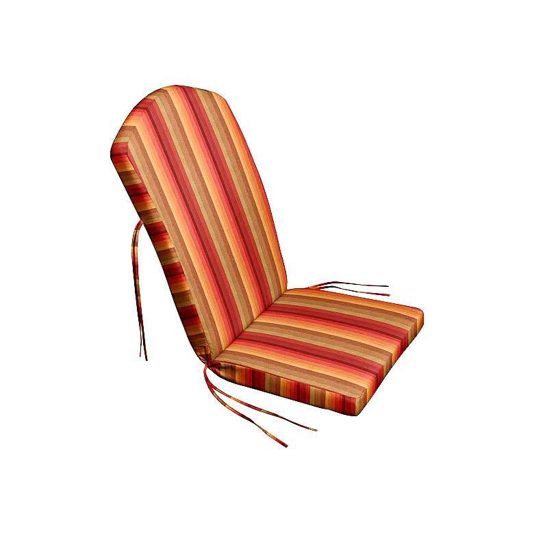 """Sunbrella Kali Astoria Sunset 45"""" High Adirondack Cushion"""