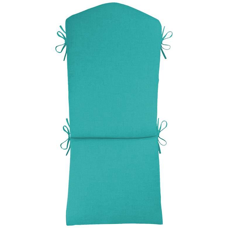 """Sunbrella Kali Canvas Aruba 45"""" High Adirondack Cushion"""