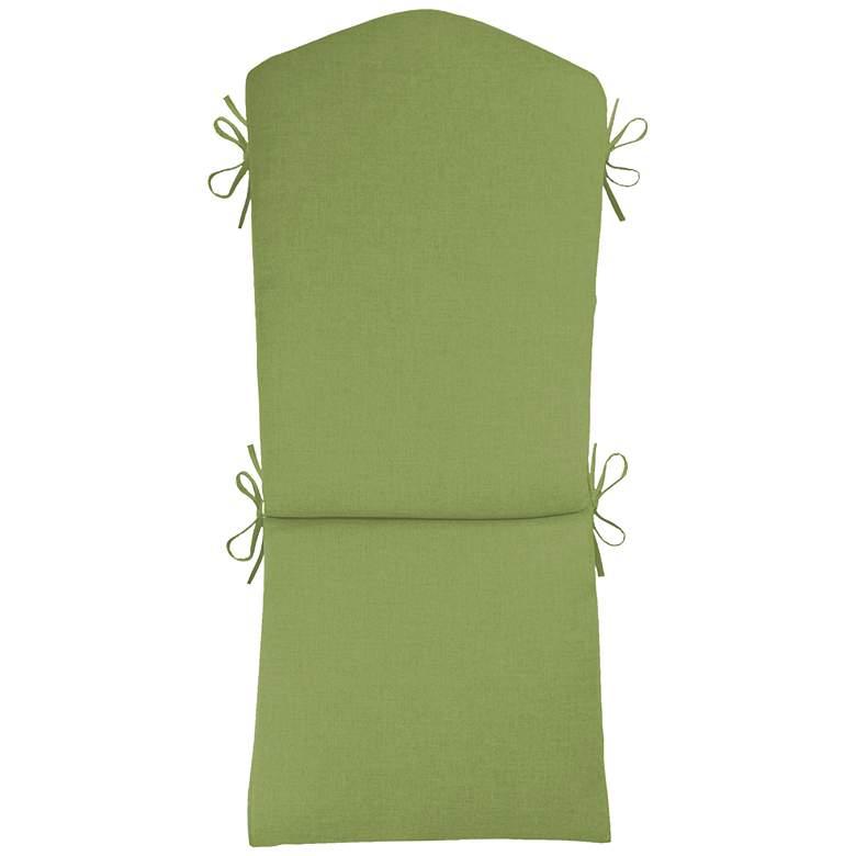 """Sunbrella Kali Canvas Ginkgo 45"""" High Adirondack Cushion"""