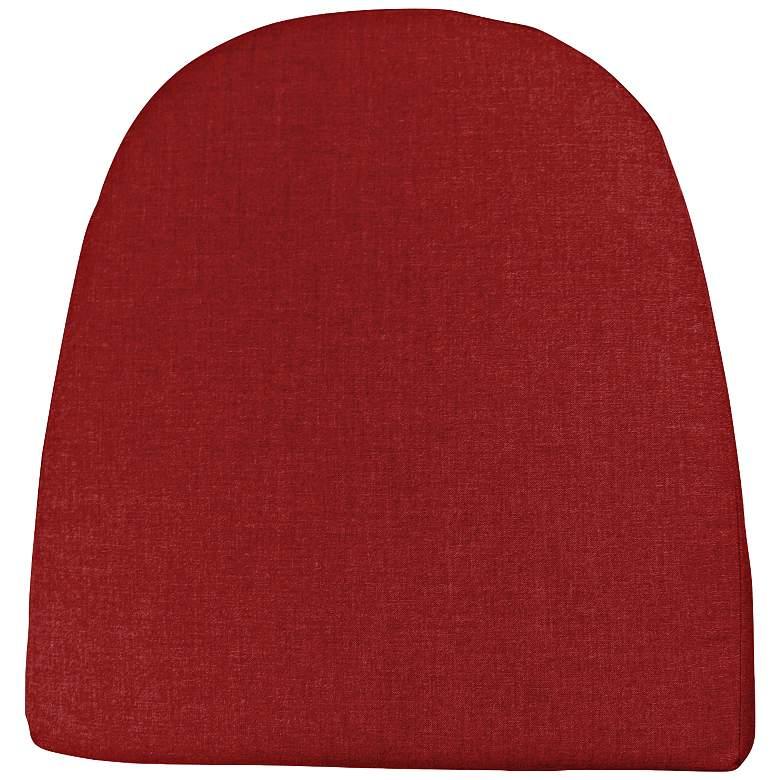 """Sunbrella Kali Canvas Jockey Red 20"""" High Rocker Cushion"""
