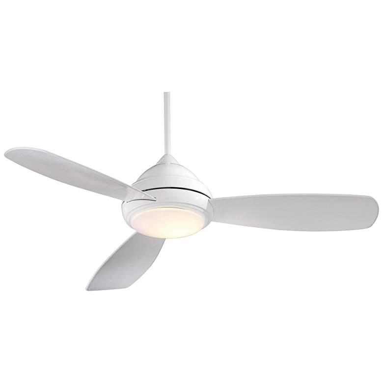"""44"""" Concept I White LED Ceiling Fan"""