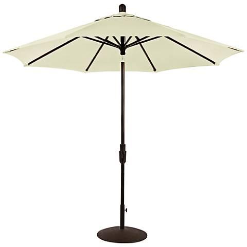 Zuma Shore 8 3/4-Foot Natural Sunbrella Patio Umbrella